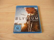 Blu Ray Elysium - Matt Damon & Jodie Foster - 2013