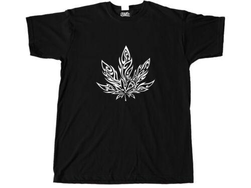 WEED T SHIRT Cannabis Leaf Marijuana Spliff Clothing HANDMADE Cool Clothes Gifts