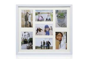 Multi-Aperture-7-Photos-6x4-034-Picture-Frame-White