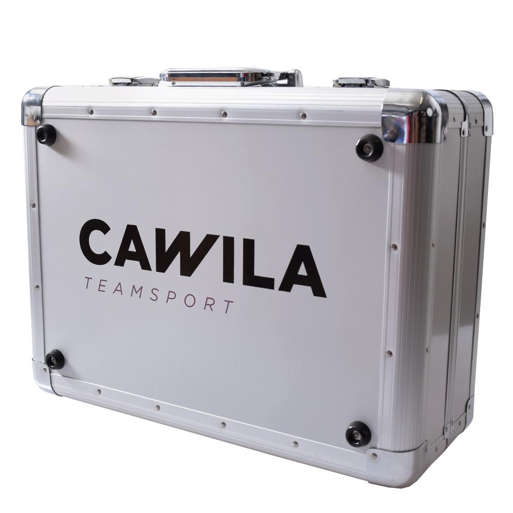 CAWILA Alu-Sanitätskoffer Transportkoffer Koffer aus Aluminium ohne Füllung