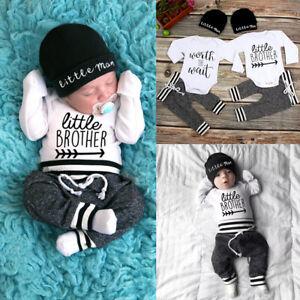 Cute-Newborn-Baby-Boy-Girl-Clothes-Jumpsuit-Romper-Bodysuit-Pants-Hat-Outfit