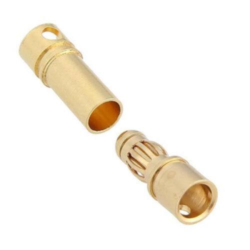 20PCS 10Pai 3.5mm Gold Plated Male+Female Bullet Banana Plug ASS