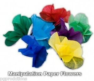 8 appearing paper spring flowers from fingertips manipulation magic image is loading 8 appearing paper spring flowers from fingertips manipulation mightylinksfo
