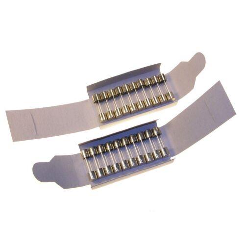 20 Sicherungen 5x20mm Glas 1,6A Feinsicherungen 5x20 mm träge 1,6 A 082130
