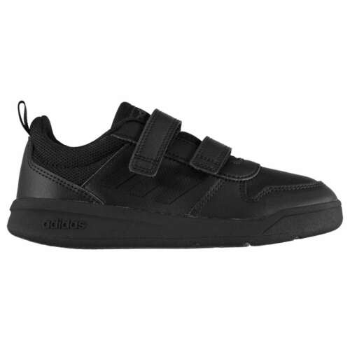 adidas Kids VectorCF Childs Low Top Strap Trainers Sports Shoes