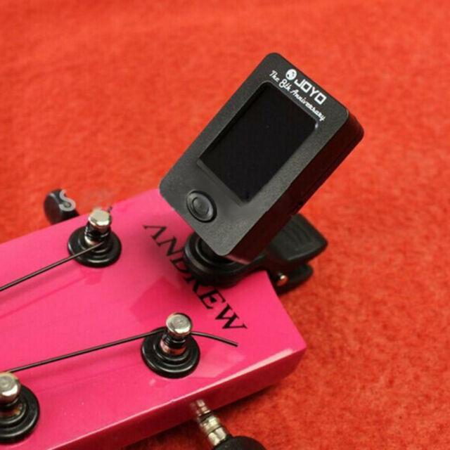 Clip On Chromatic Tuner Guitar Bass Banjo Ukulele Violin OUD Tuner JT-01 JOYO GN