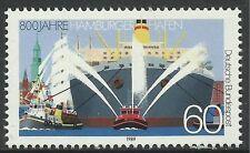 WEST DEUTSCHLAND 1989. 800th Jahrestag von Hamburg Hafen Andenken SG: 2273. MNH