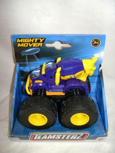 NEW TEAMSTERS MIGHTY MOVER DIE-CAST DUMPER CEMENT MIXER TRUCK CHUNKY WHEELS