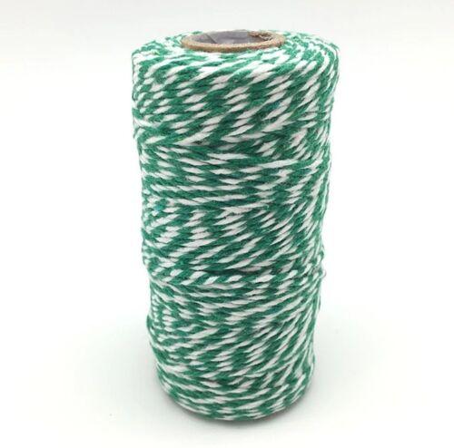 100m Bindfaden Packschnur Seil Verpacken Basteln Dekorieren Umzug Garn Bakers