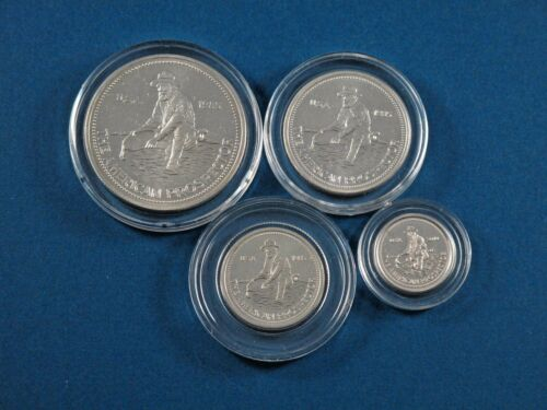 1 gram in  Air-Tites Mint 1985 Engelhard Prospector Silver Set 1//2 1//4 1//10 oz