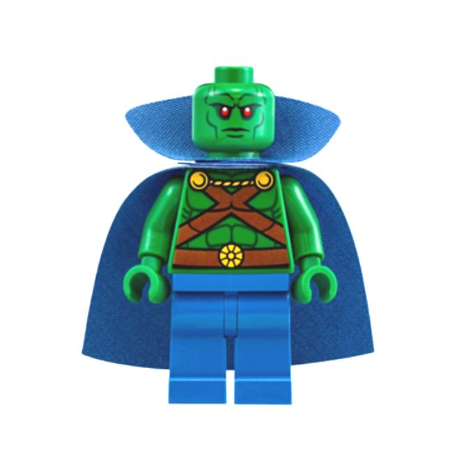 Lego Martian uomohunter 76040 Cape with Collar Super Heroes  Minicifra  più economico