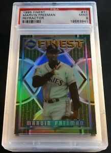 1995-MARVIN-FREEMAN-FINEST-REFRACTOR-31-PSA-9-ROCKIES-POP-4-NONE-HIGHER-709