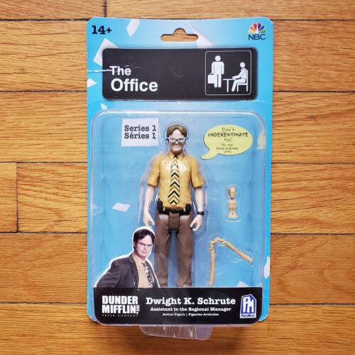 action figure brand new Phat Mojo environ 12.70 cm L/'Office Series 1 Dwight K Schrute 5 in