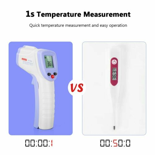 Medical NON-CONTACT Body Forehead IR Infrared Laser Digital Thermometer YY