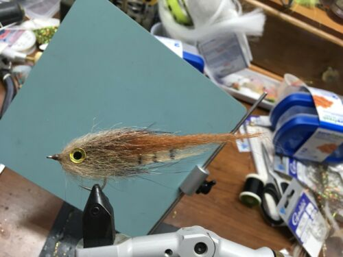 Redfish Tarpon Saltwater Fies Backwater EP Baitfish 1//0 Snook Jacks