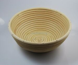 "1 peice 9/"" 22cm Round Brotform Banneton Bread Proving Proofing Rattan Basket"
