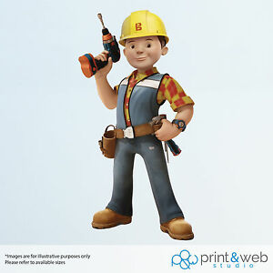 Great Image Is Loading Bob The Builder Wall Decal Sticker Bedroom Vinyl  Part 14