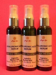 3-2oz-HYALURONIC-ACID-Matrixyl-Vitamin-E-Vitamin-A-Retinol-Healing-Wounds-Cuts