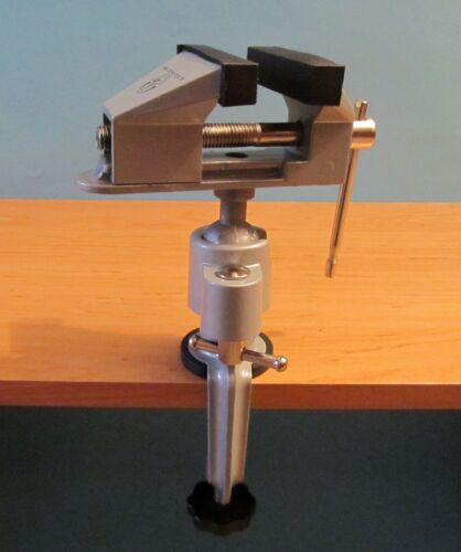 Mini Schraubstock drehbar um 360° mit Drehbarer Kopf in Hoher Qualität A600173
