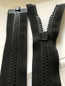 23 inch YKK Black 5 Vislon Closed End Zipper