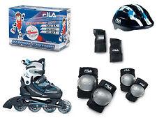 Fila x-one combo 3 set Boy blb/bl inline skates con protección talla L 35-38 - venta con