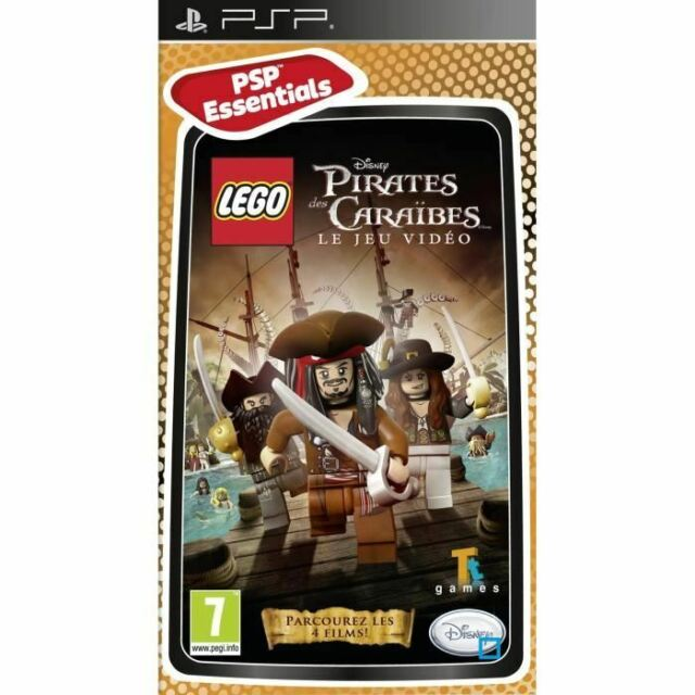 Lego pirates des Caraïbes | Jeu Sony PSP
