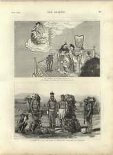 1875 Chinese Mythology Emperor Miao Chwang, Goddess Kwan-yin