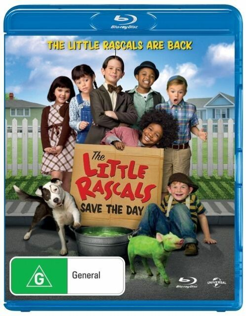 Little Rascals Save The Day (Blu-ray, 2014)