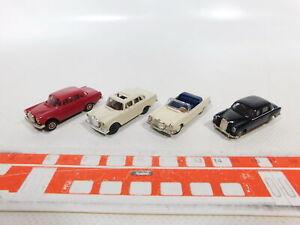 Ca375-0-5-4x-Brekina-1-87-h0-automovil-mercedes-MB-180-190-190-200-etc-muy-bien