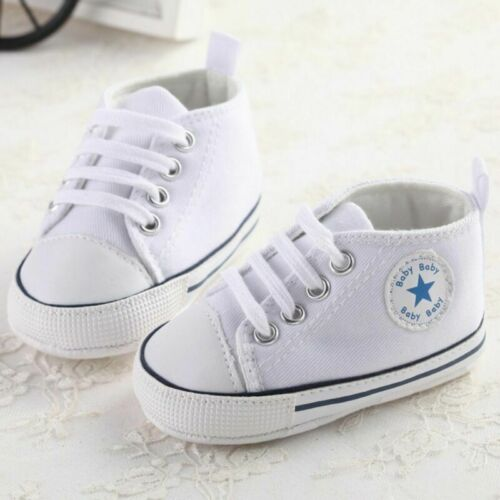 Infant Toddler Sneakers Baby Boys Girls Soft Sole Crib Shoes Newborn to 12Months
