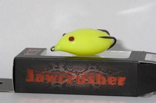 Topwater Grenouille Jawcrusher
