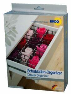 RUCO Schubladen Organiser für Socken,Unterwäsche,Küche,Haushalt ...