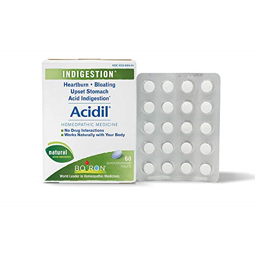 Acidil Indigestion Medicine for Heartburn and Acid Reflux  60 Count Fast-acting 1