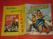 ZAGOR ZENITH- ORIGINALE- N°108 a -LIRE 200- (ZAGOR gigante N°57)- DEL 1970- raro