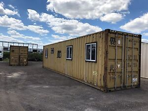 40 Shipping Container >> Details About 40 Shipping Container Home Shell