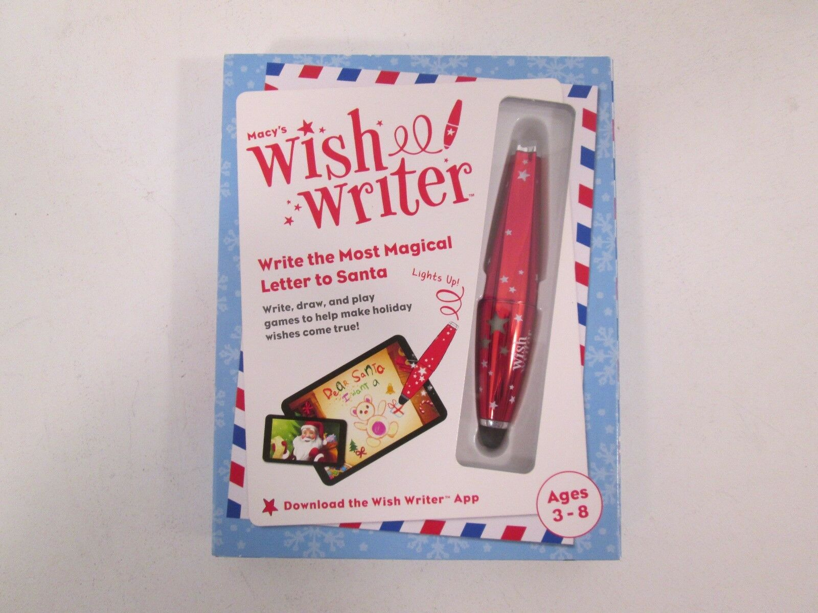 Macys wish writer stylus write magical letters to santa new sealed macys wish writer stylus write magical letters to santa new sealed ebay spiritdancerdesigns Gallery