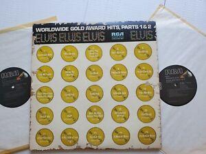 Elvis Presley - Worldwide 50 Gold Award Hits Teil 1 & 2 Kompilation 2Lp