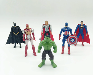 Pack of 2 Super Hero Toppers BATMAN  THOR  SUPERMAN CAPTAIN AMERICA HULK GROOT