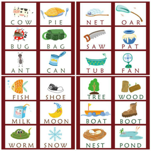3-in-1 Spelling Learning Game Wooden Spelling Words Enlightenment Baby kids Gift
