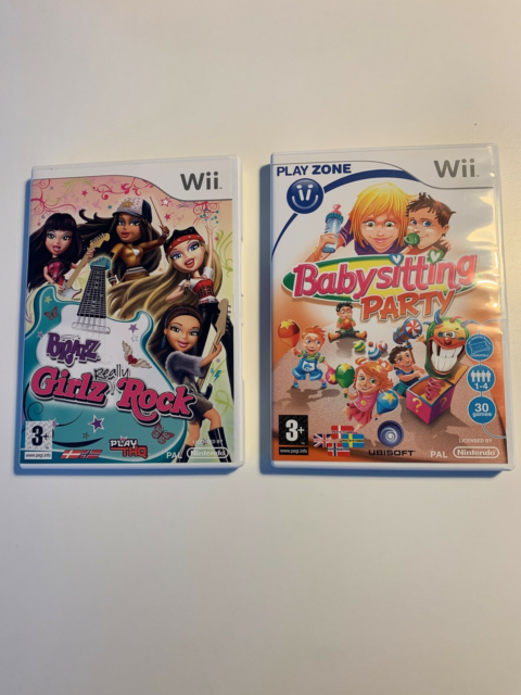 Wii - Spil, 50,- stk/ BRATZ, Girls Really Rock og…