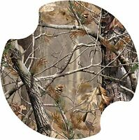 Thirstystone Realtree Car Cup Holder Coaster, Green, 2-pack, New, Free Shipping on sale