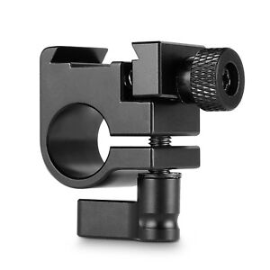 SmallRig-DSLR-15mm-Rail-Clamp-With-Cold-Shoe-Mount-For-Monitor-Support
