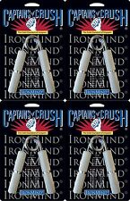 4 Ironmind Captains of Crush CoC grippers hand strength: No. 1 + 1.5 + 2 + 2.5