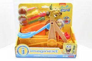 Fisher-Price-Imaginext-Spongebob-Chummy-Patty-Catapult-IN-HAND