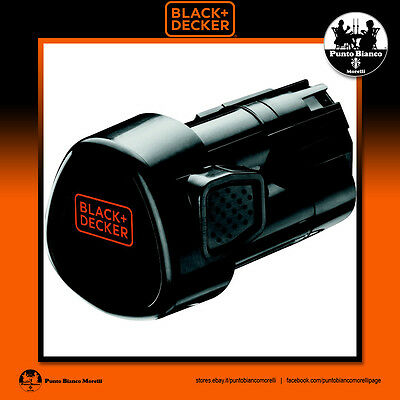 BLACK+DECKER. Batteria litio 10.8V 1.5Ah - Li-Ion battery | BL1510-XJ