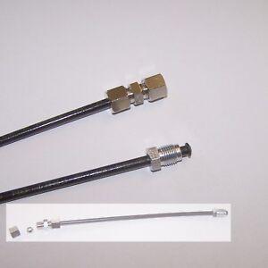 Bremsleitung 300 mm L/änge HINTEN LINKS f/ür BMW E30