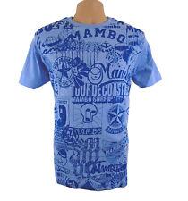 Mambo Surf Camiseta Oficial para Hombre Medio Tour De Costa Azul