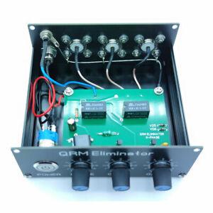 1-30 MHz Assembled QRM Eliminator X-Phase HF bands SO-239 connectors + Case
