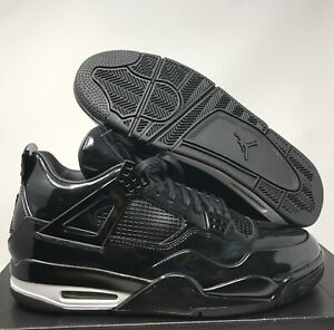 234006c352b147 NIKE AIR JORDAN 11LAB4 BLACK-WHITE SZ 12 PATENT!  719864-010 ...