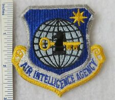 USAF Patch Air Combat Command Full Color on Leather with Fastener AF-P01D